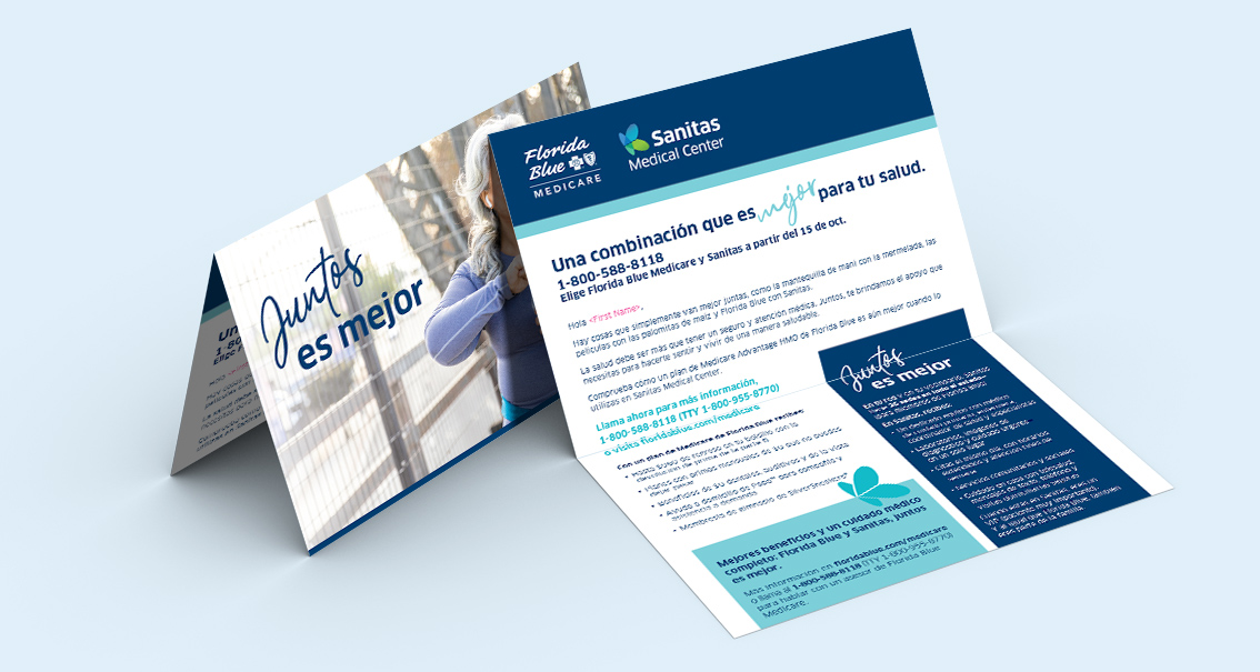 Hospital brochure design